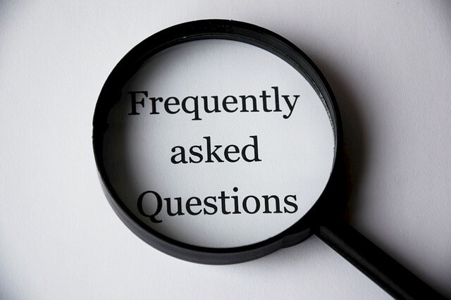 שאלות נפוצות